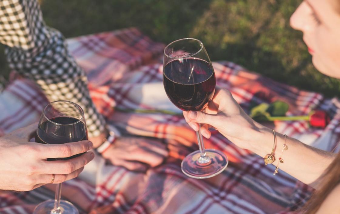 skleničky vín