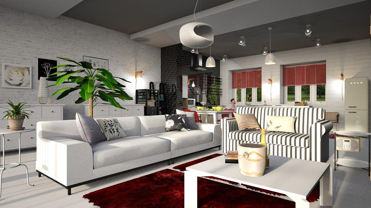velký obývací poko